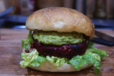 The Beetroot Burger